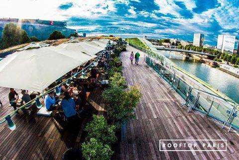 N ba location privatisation rooftop terrasse paris 13 for Maison de la mode et du design paris
