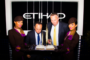Etihad Airways / 10 ans / Terrasse 50