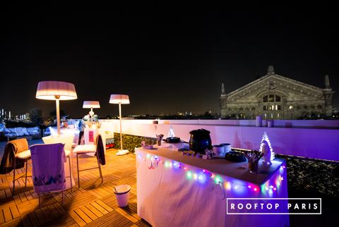 Rooftop paris 9 rooftop paris for Exterieur nuit