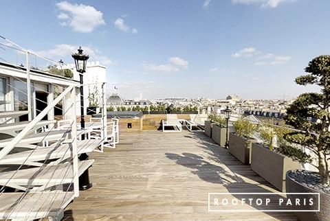 Privatisation d'un rooftop à paris