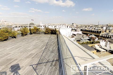 Grande Terrasse en Rooftop