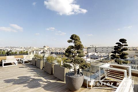 Terrasse Rooftop Saint Augustin