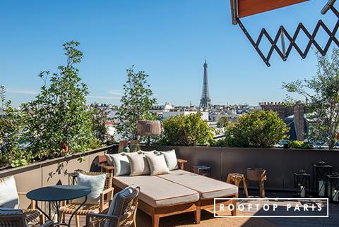 Louer un rooftop dans le 16ème arrondissement